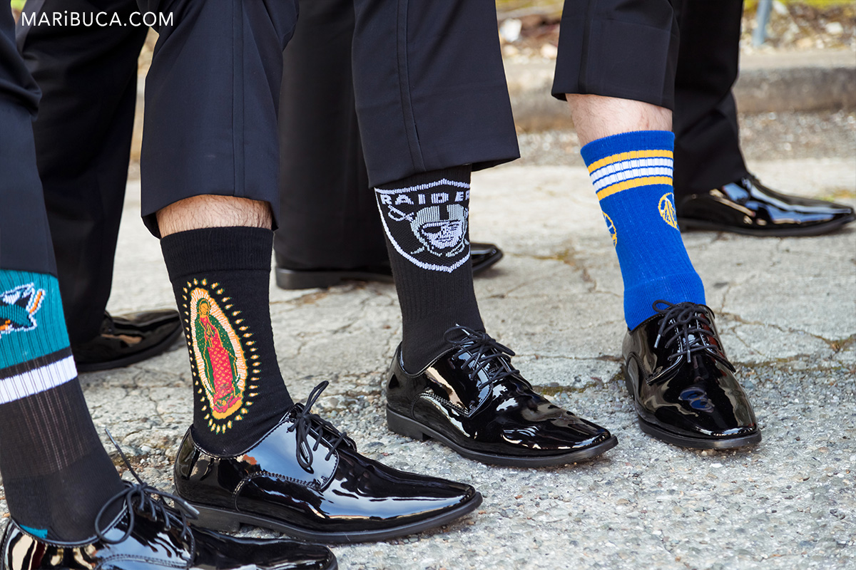 Groom's sock the black in the wedding Please show me you amazing socks in the villa Ragusa Campbell