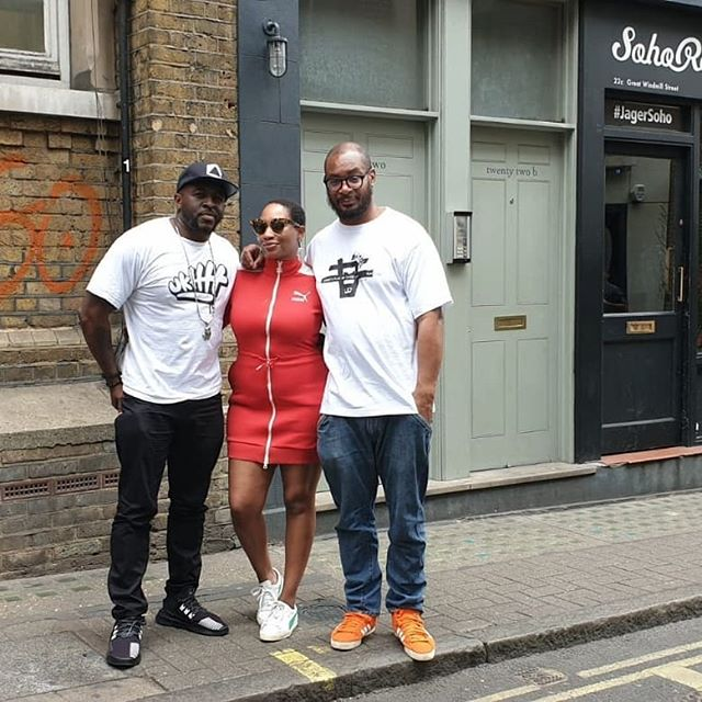 Yesterday #KINGDEM caught up with our sis, the Queen @iamterriwalker #meltingpotpodcast on @sohoradio for an incredible 2 hour #conversation (interview), filled with fun, laughter, memories, history, the journey, influences, inspirations and of course classic music From @tymusical  @rodneyp_uk @officialblaktwang.  Shout out to everyone at Soho radio, Vasco (the producer of the show) our unexpected special guest, our bro @jculpeppermusic and everyone locked in. Respect🙌🏾👊🏾 #KINGDEM #TheConversation #ukhh #terriwalker #riddimkilla #Tymusic #Rottonostra #k9london #justcallmeteddy🎛️🎧🎤 #nipseyhussle