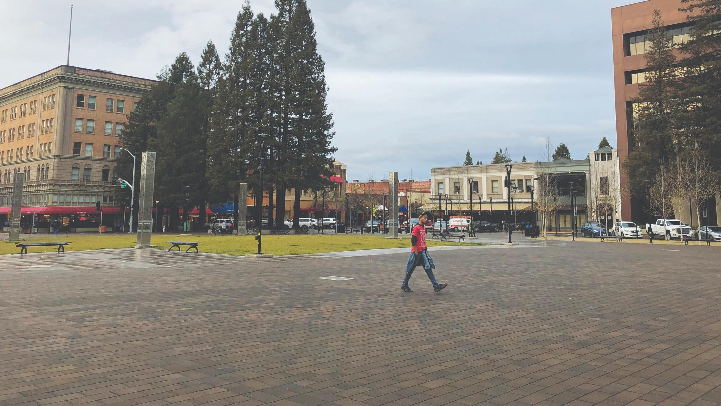 Ayuda con la planificación del centro de Santa Rosa