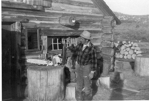 Emmett at the Cabin-1960