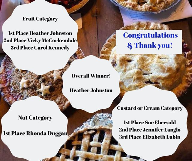 We went Pie crazy at the Hayden Cabin yesterday and it was a blast! . . Here are the results: . 🙏Thank you Jennifer Deangelis for the beautiful laser engraved wood Awards. Thank you Judges: David Harvey, Sandra Di Domizio, Sue King, and Robert Joki for your time and willingness to risk diabetic coma. Thank you Hayden Cabin Staff, Board and Volunteers!  Thank you EVERYONE that came out to the cabin and for your purchase of Raffle Tickets, Food, Drinks, and Retail items. 100% proceeds go to Mammoth Museum at Hayden Cabin. Thank you sponsors: Mammoth Mountain, Elixir, Get Outdoors 365, Wave Rave, Kittridge Sports, Shats, McCoy Sports, and Footloose for your generous raffle donations! More FUN all weekend long at Hayden Cabin. 🎻Saturday- Jazz Brunch by the Creek 🏎All Weekend - Concours D'Elegance (Jazz ticket purchase admission required Saturday) 🎼Sunday - Romancing the West Musical Documentary . 😊Come by for a visit! 10am-6pm. . . 👉INFO and TICKETS mammothmuseum.org👈