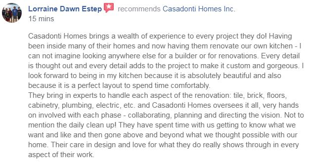 Renovation  projects… - get every bit of attention as all our homes.