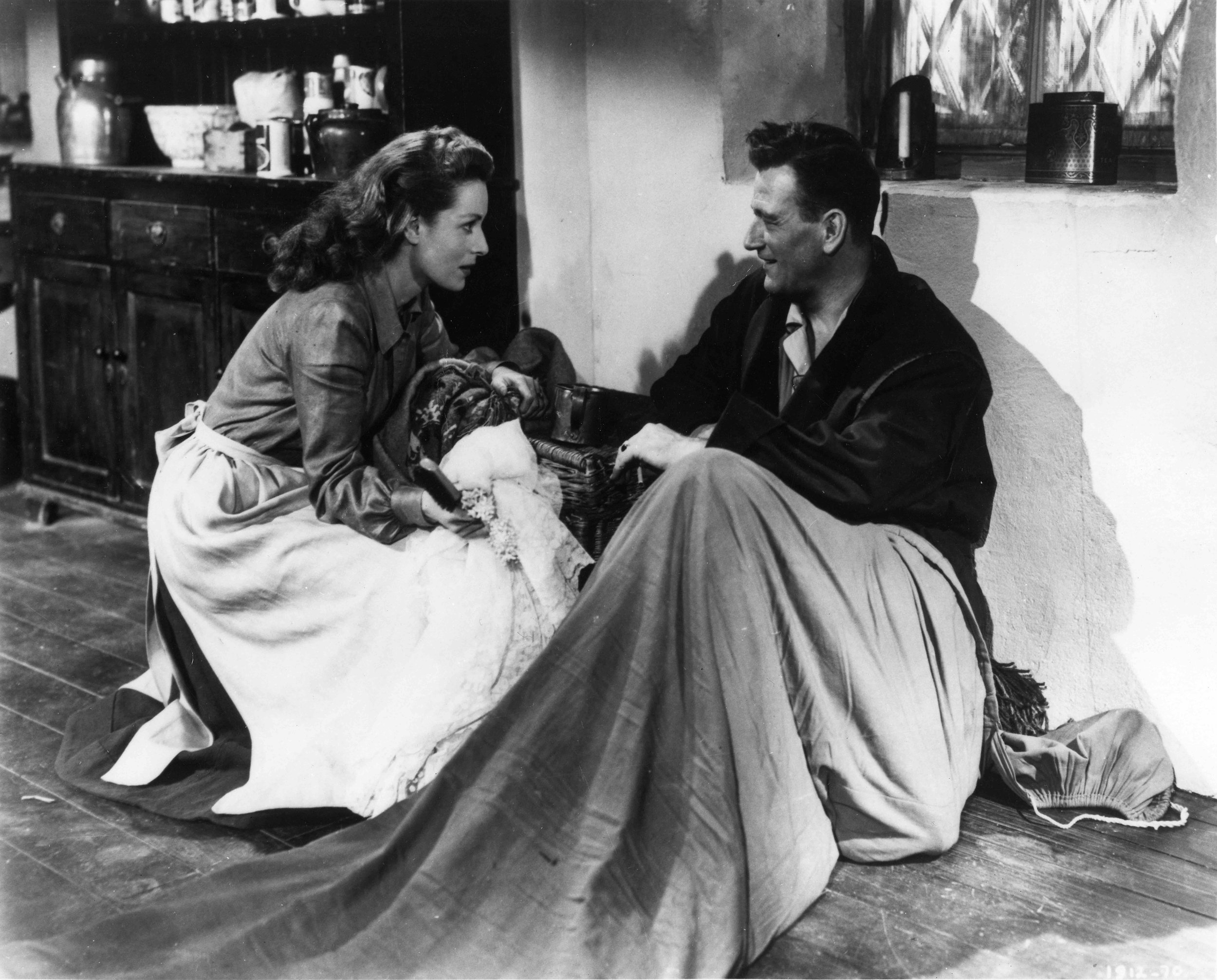 Maureen O'Hara in a scene from  The Quiet Man  (1952), photo courtesy of Republic Pictures