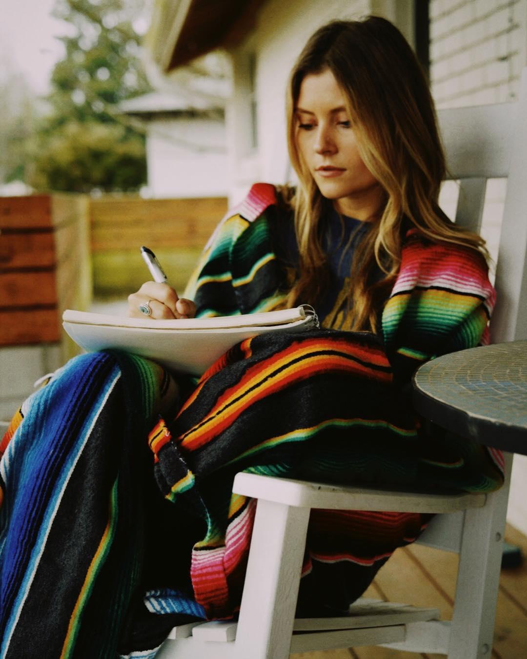 Multi-talented artist Hannah Mulholland