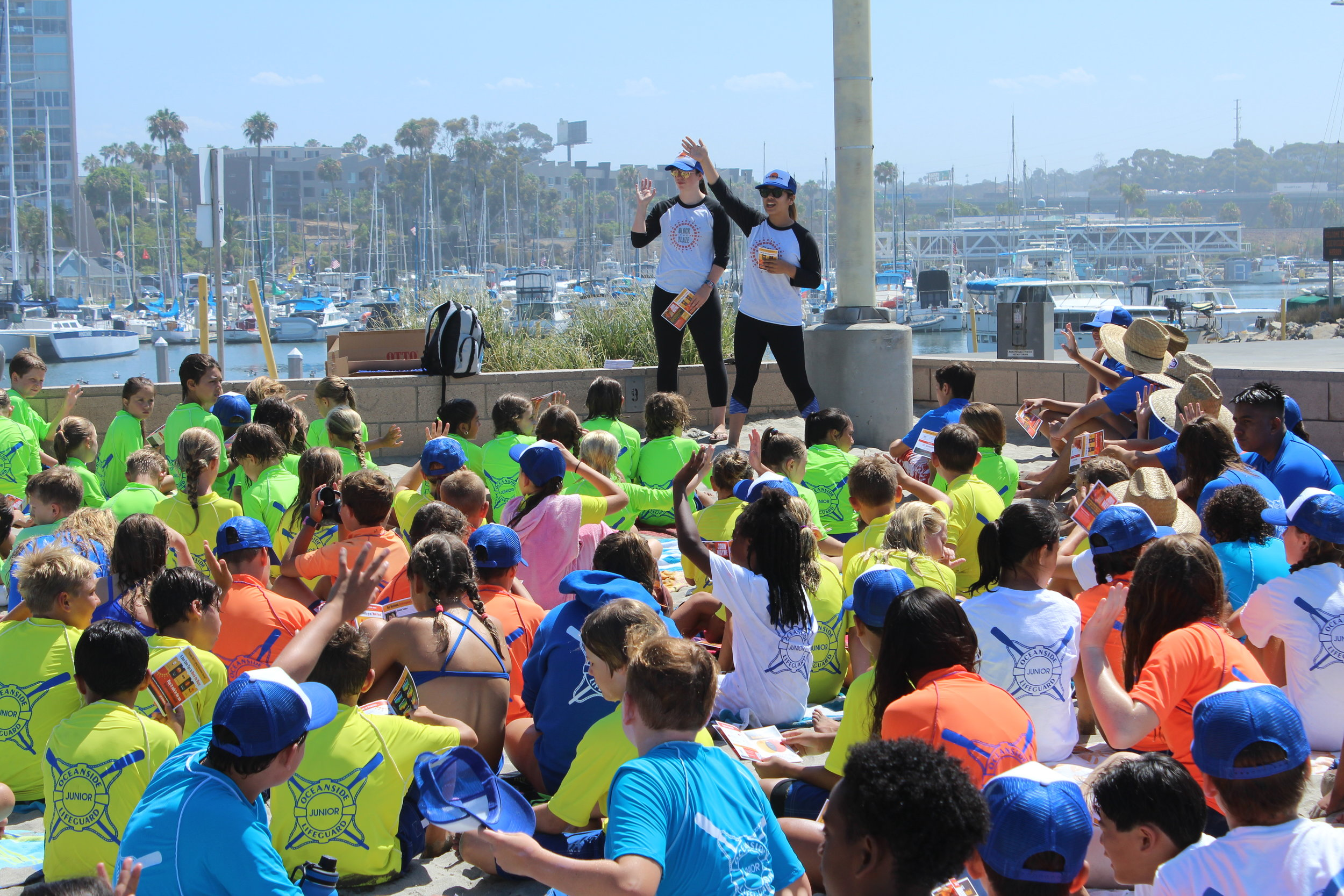 Nearly 400,000 kids have been educated on sun-safety via Block the Blaze presentations.