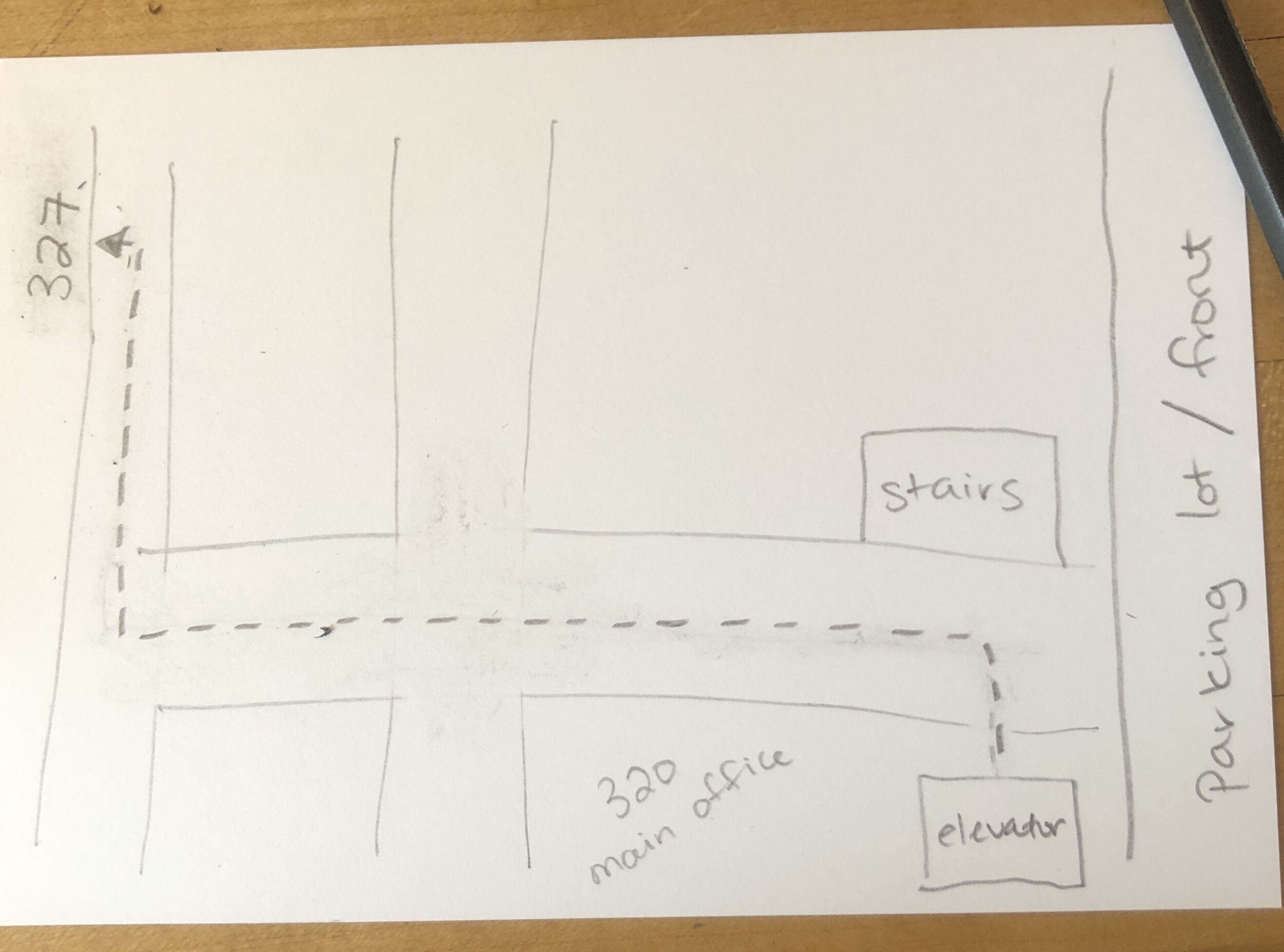 a Very Good Map of the 3rd floor of Eastworks