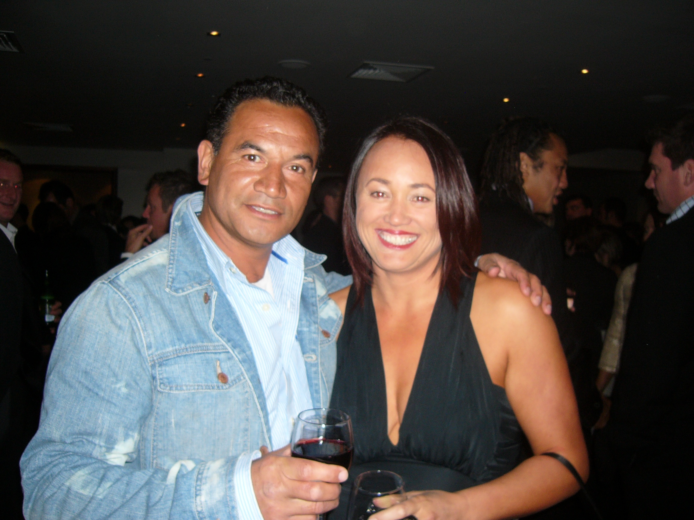 TEMUERA MORRISON - I was fortunate to work with actor, Temuera Morrison in LA at the Star Wars 30 year conference. We had a coaching meeting in Rotorua and 2 days later I was on a plane to LA to assist with his business work. A great experience and person.