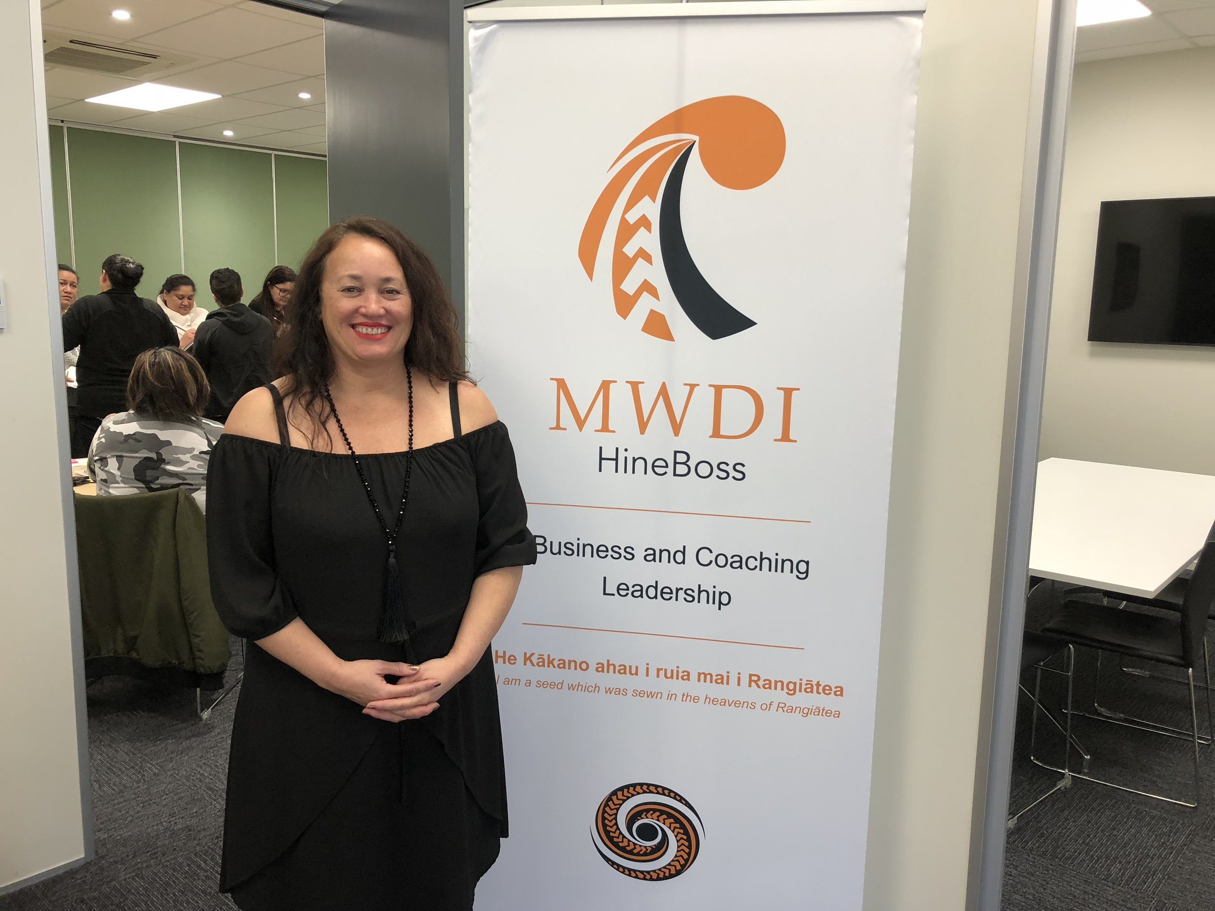 MWDI - I have a coaching contract with MWDI (Maori Women's Development Inc) to empower, educate and inspire Wahine Maori in their personal & business economic development and sustainability. It is incredibly inspiring working within my own culture.