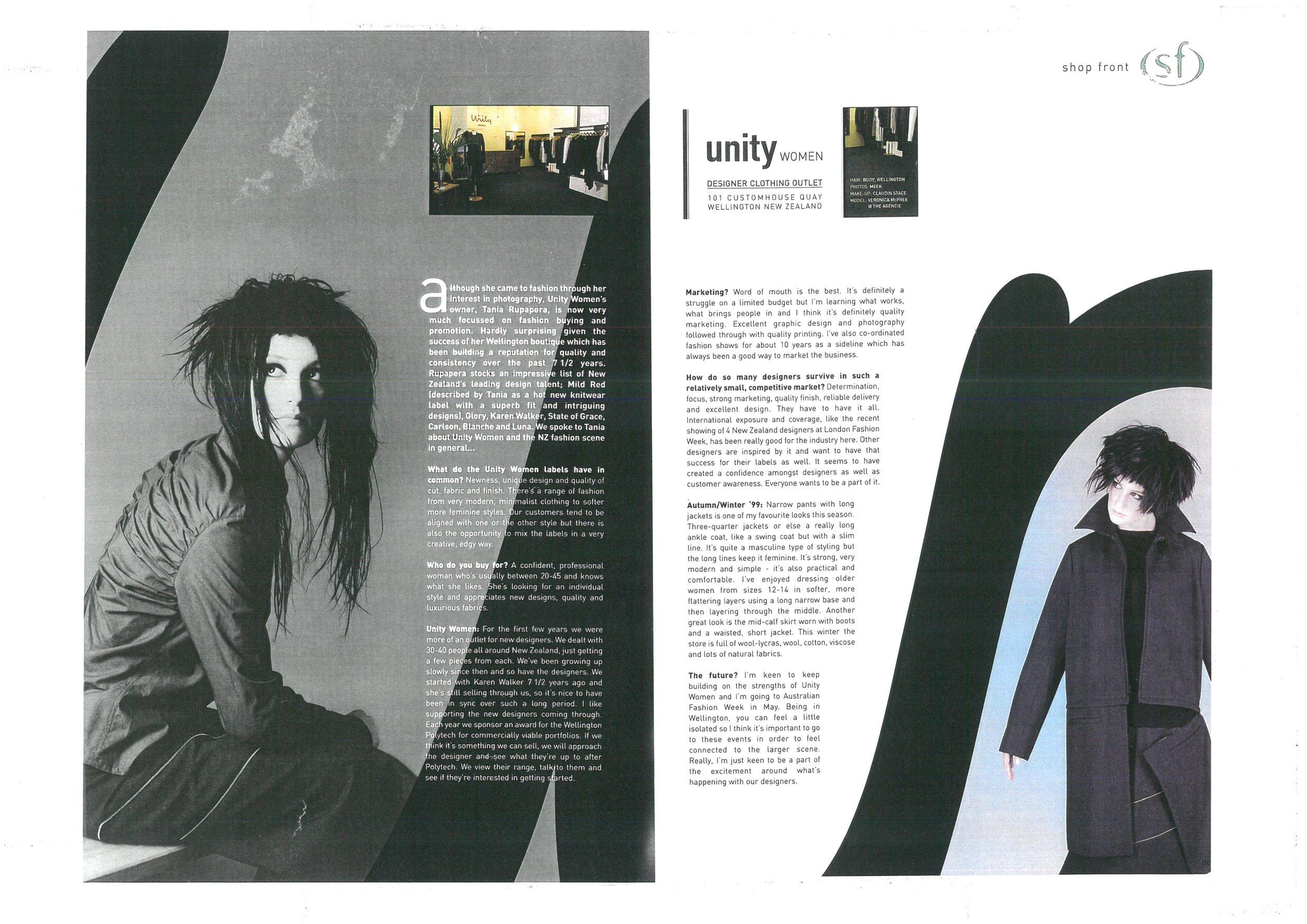 noise magazine - Interview for Australian based magazine.