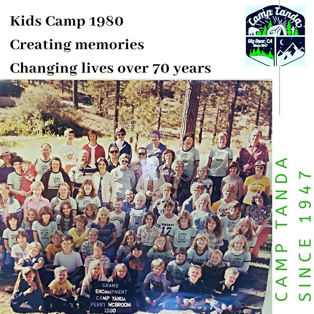 We've been making memories, sharing unforgettable and valuable moments with your children, every single year, since 1947.  This picture is from a Kids Camp from 1980!! At Camp Tanda, you can find in our Lodge pictures older than this one, when all began, as well as from the last 10 years! . Our summer Kids Camp is more than special, it is unique in it is dedicated to leading children to Christ and into a deeply intimate relationship with God. And all this happens in the middle of God's natural beauty and with so much fun!!! . Registration is open!!!! Go to 👉 www.camptanda.org and register now! . Kids Camp 2019  July 07 -13! You don't want the children in your life to miss out. Register now at: www.camptanda.org. Camp Tanda: Creating space to connect with God since 1947