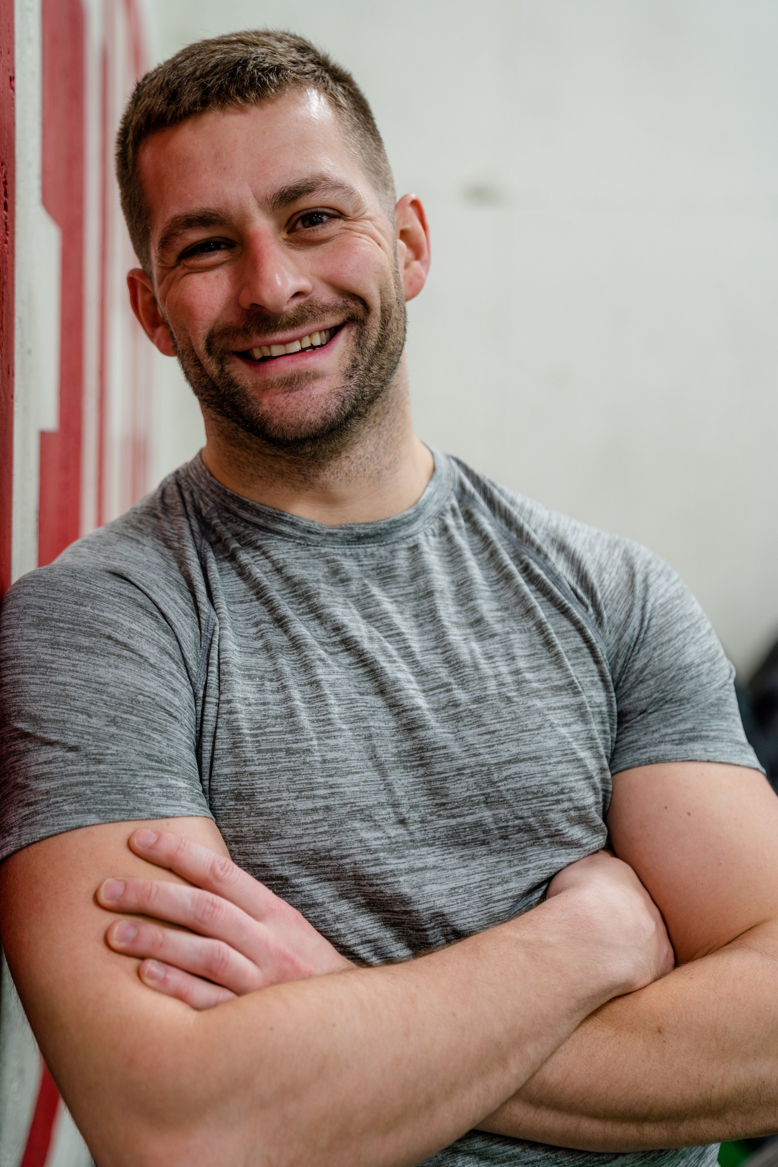 Nick - Coach, CrossFiti've spent much of my life playing and competing in various sports, but coaching CrossFit has provided a new home for those interests. as a coach and athlete, i take pride in watching our community fortify our physical and mental fitness together.