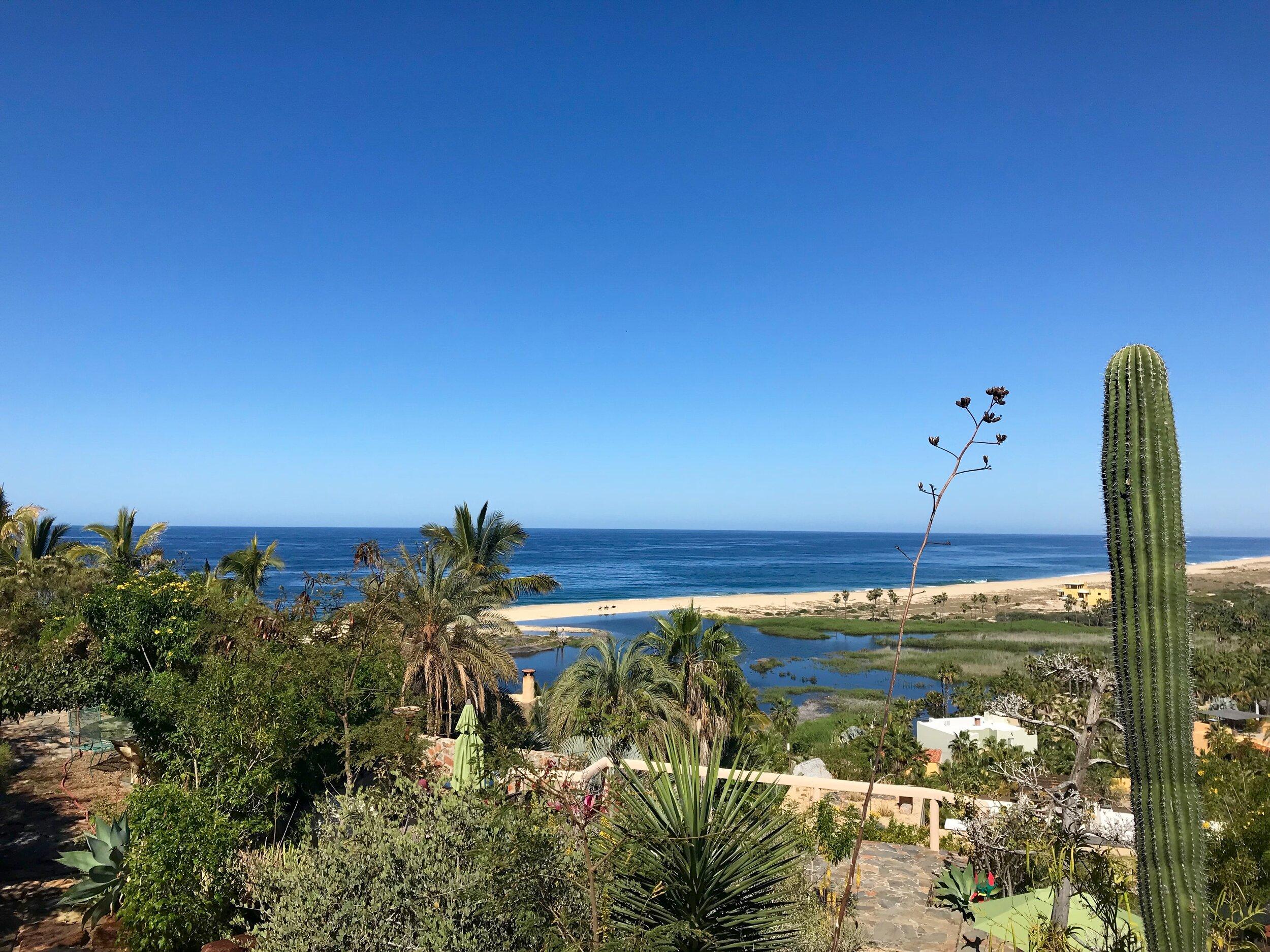 View from Los Colibris Casitas.