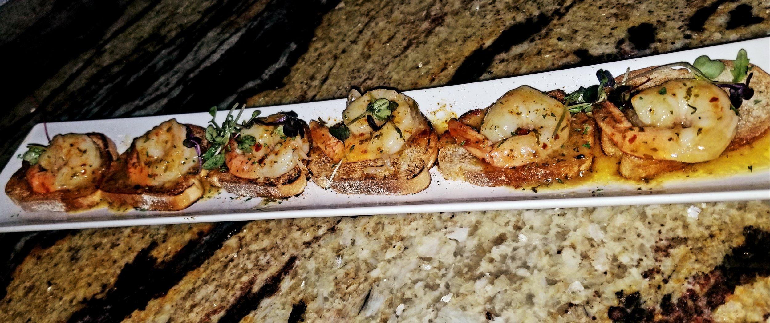 Jordan Johnson Seafood- Shrimp Scampi Appetizer- $10