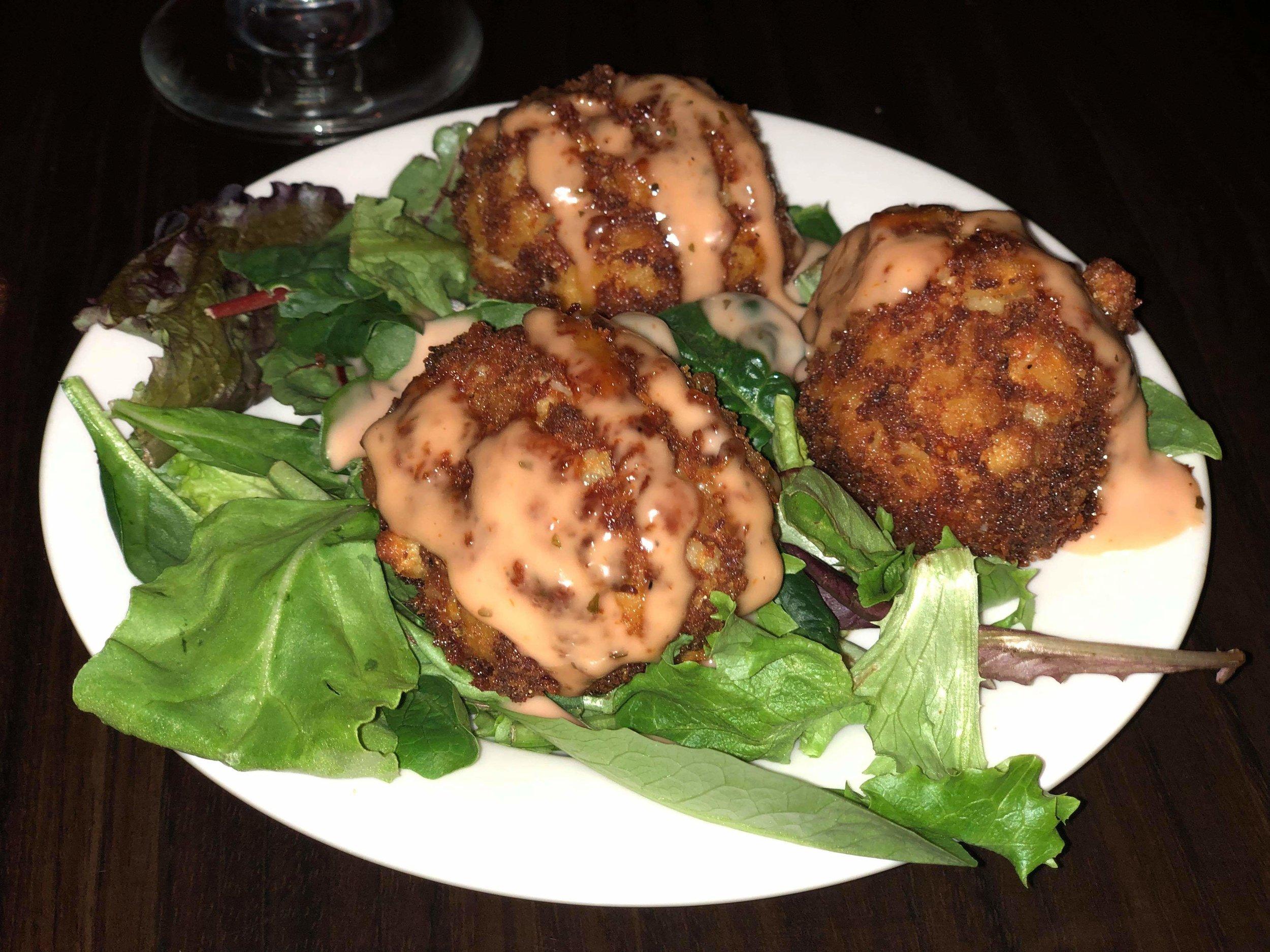 Appetizer- Crab Mac & Cheese Balls- $10