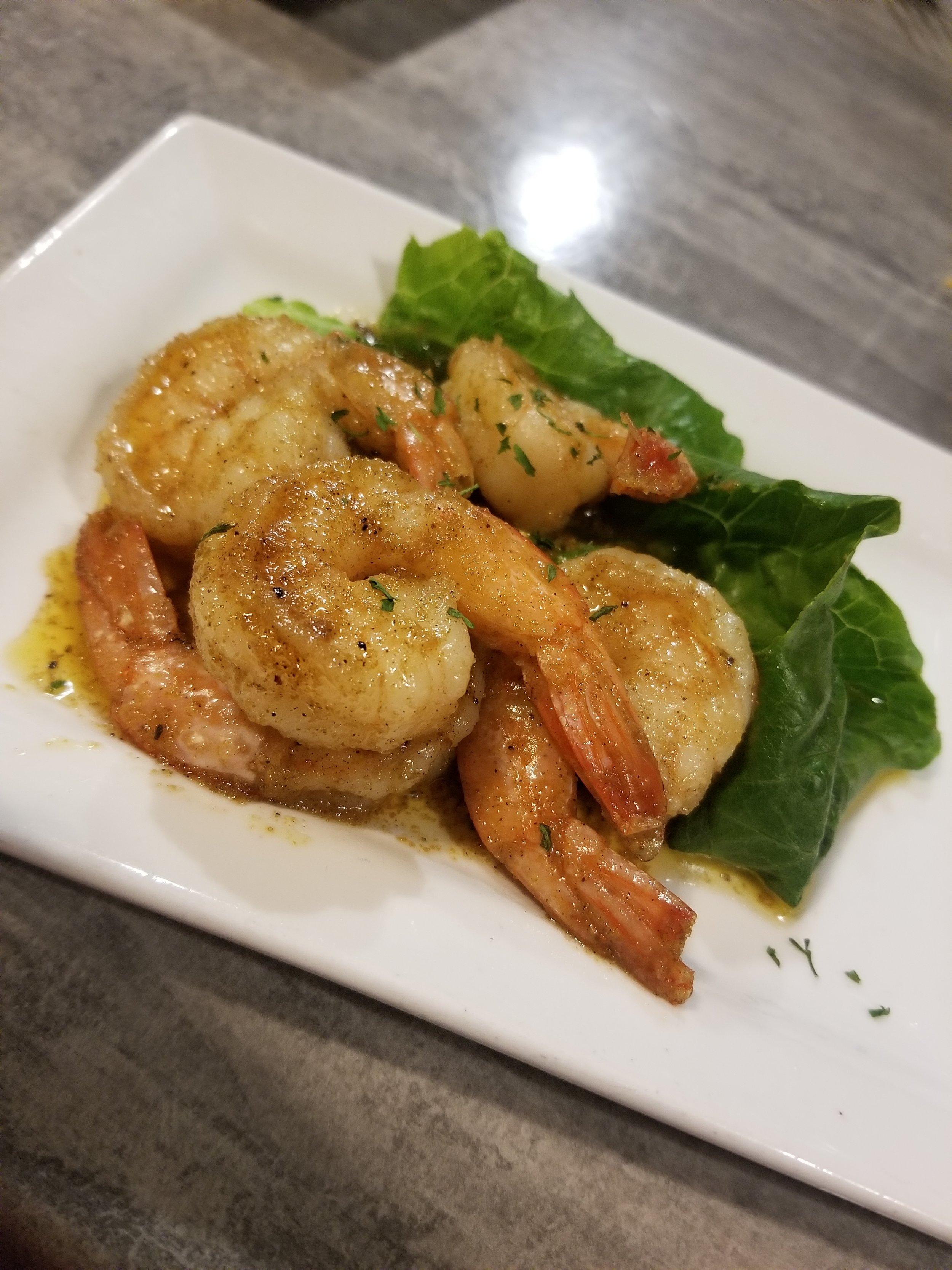 Jerk Shrimp (5) $8.00