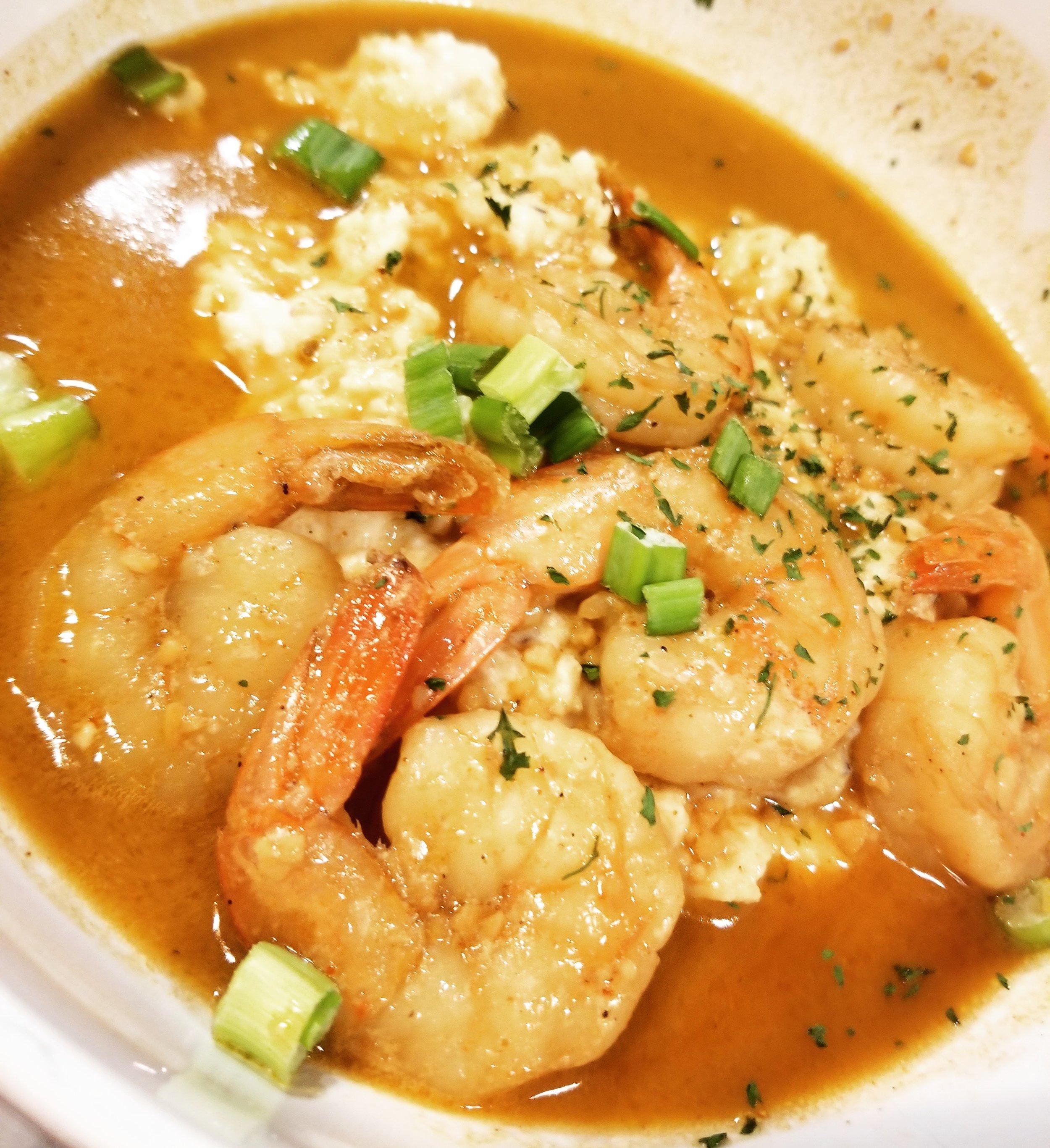 Shrimp & Grits- $16