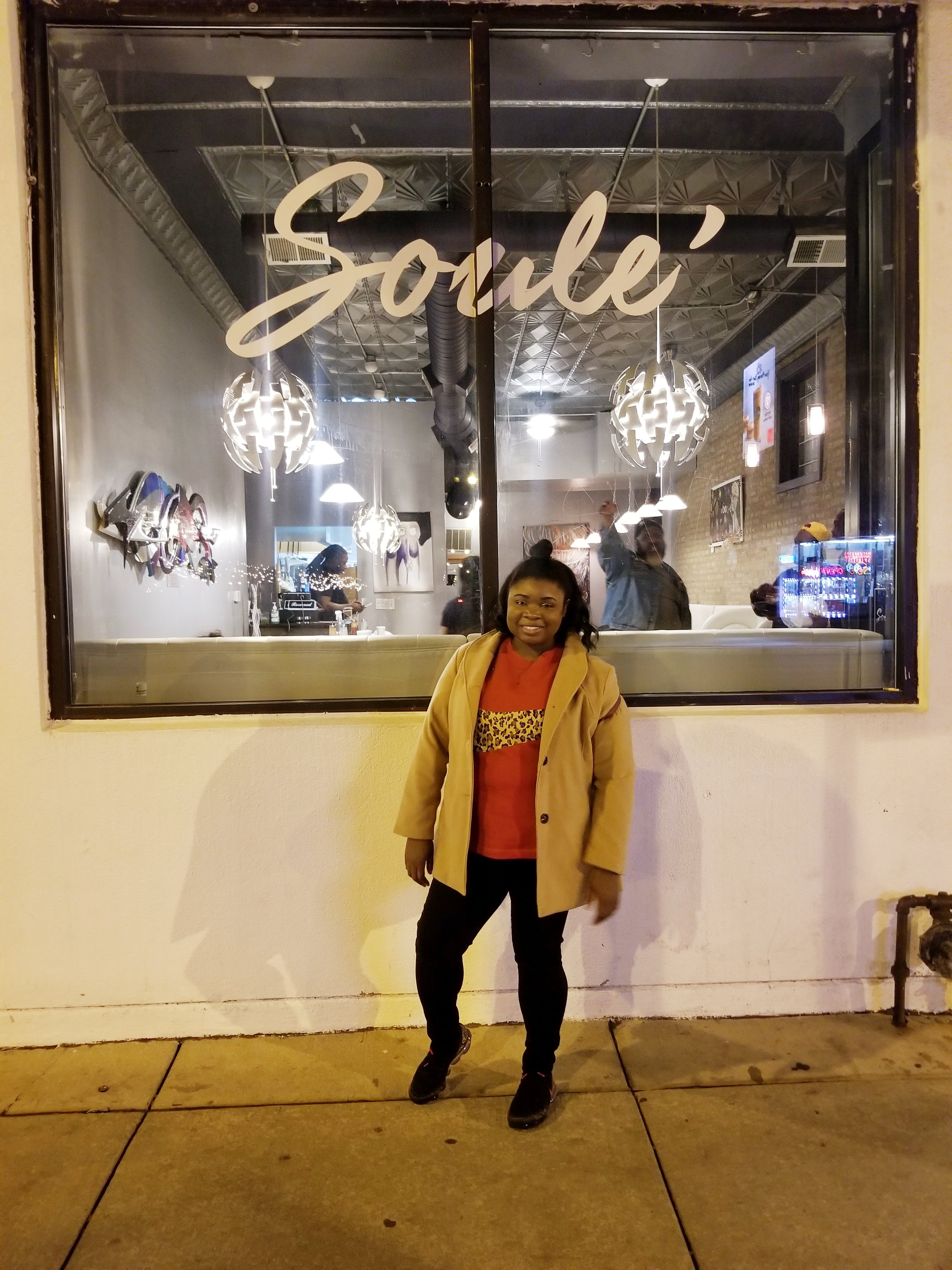 Day 1:  I made sure my first stop of the night was at Soule Chicago.  It was hands down the best food I had my entire trip.  I loved the food so much I did an entire post (linked under food reviews)