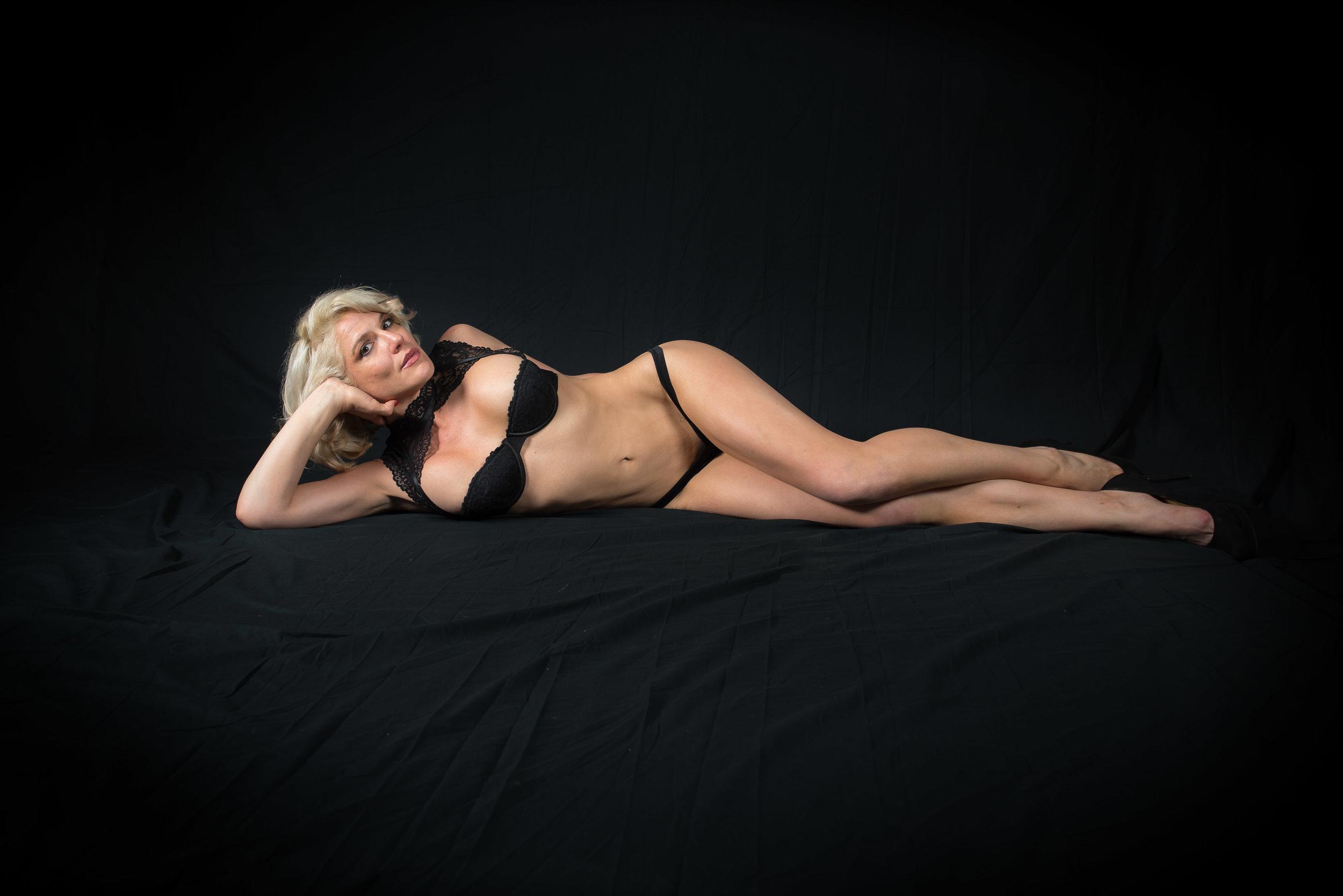 Marilyn Redd black lace.JPG