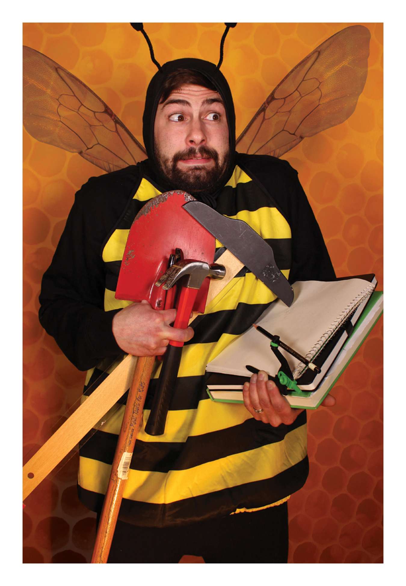 richie brown bumble bee oracle tarot.png