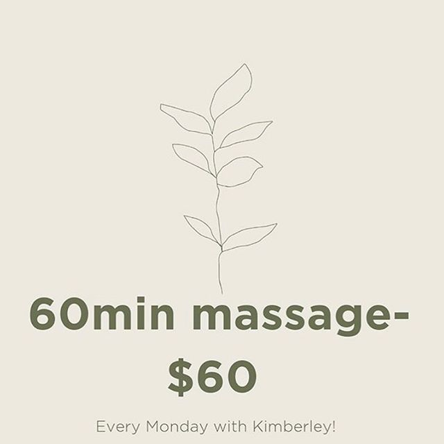Tomorrow's your last chance to make the most of this amazing offer. Book online or call us from 9am tomorrow. #massage #beautysalon #koondrookbarham