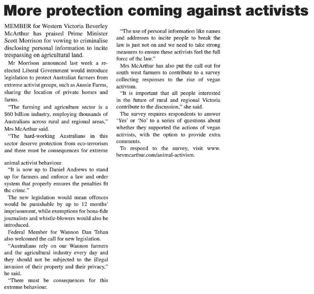 More protection coming against activists.png