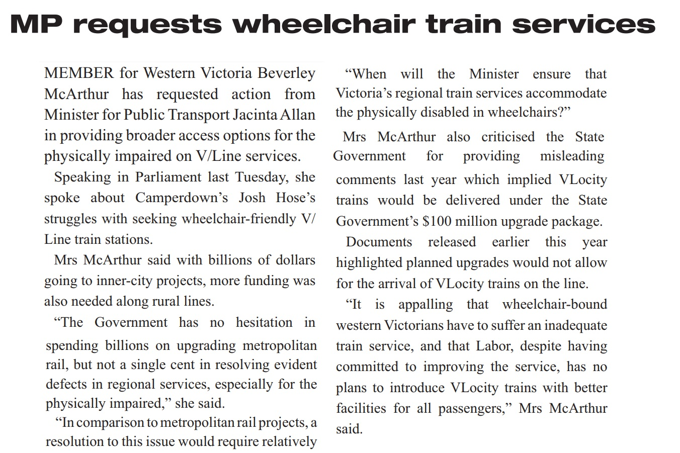 06062019+MP+requests+wheelchair+train+services.jpg