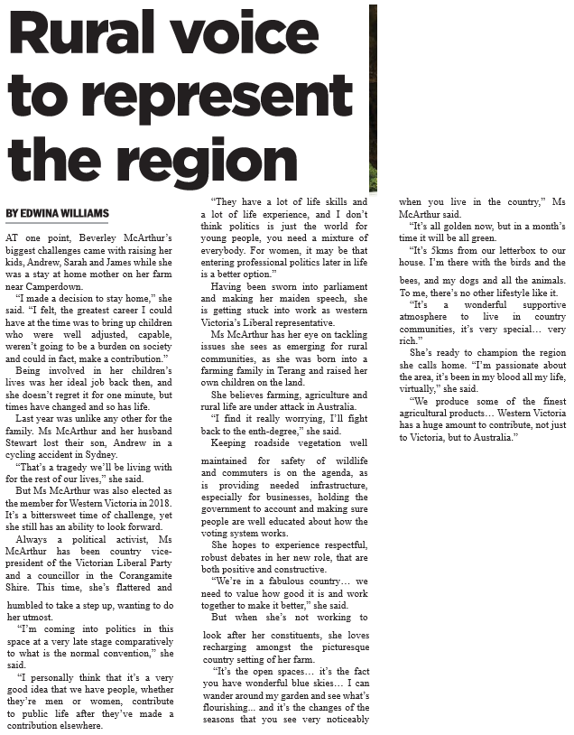 28022019 Rural voice to represent region.PNG
