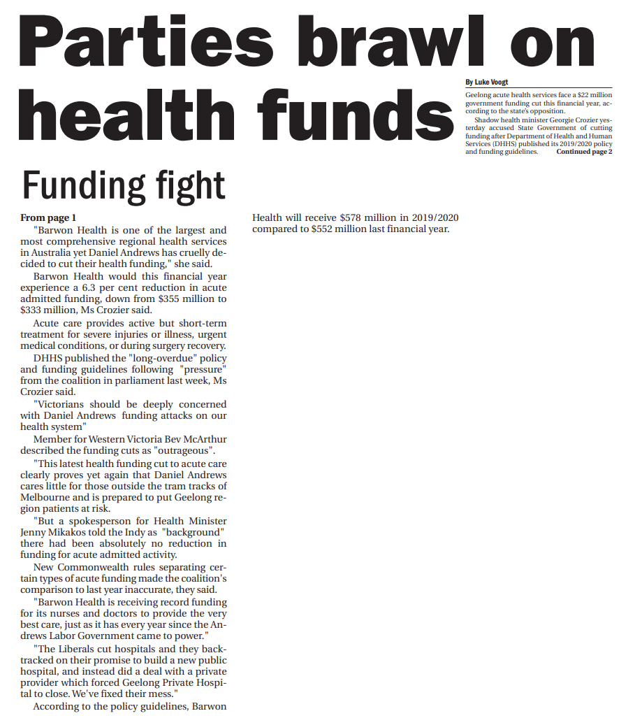 Parties brawl on health funds.png