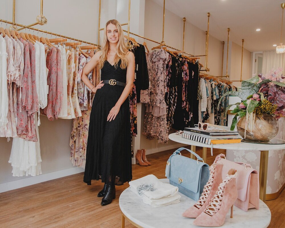 we are kindred - 74 OXFORD STREETOne of Australia's most exciting emerging labels by sisters Lizzie & Georgie Renkert. Known for bespoke floral prints, delicate detailing & a touch of bohemia.