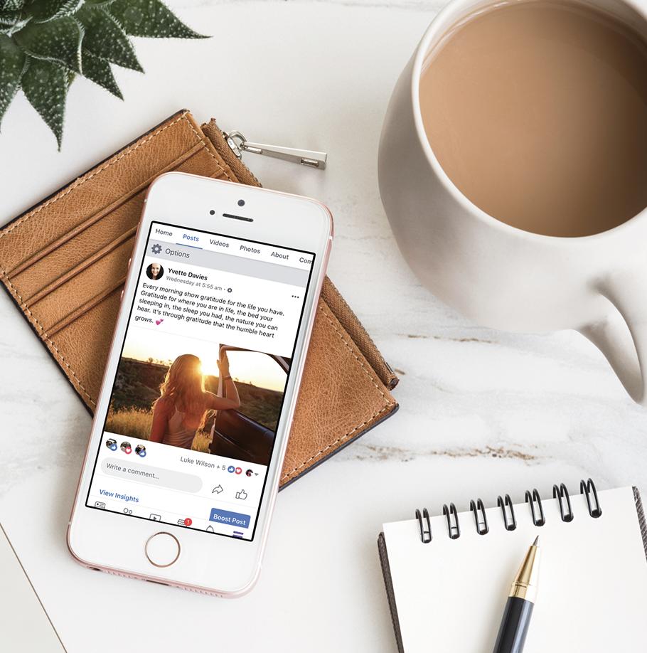 Social Media- Yvette Lillian Design Co