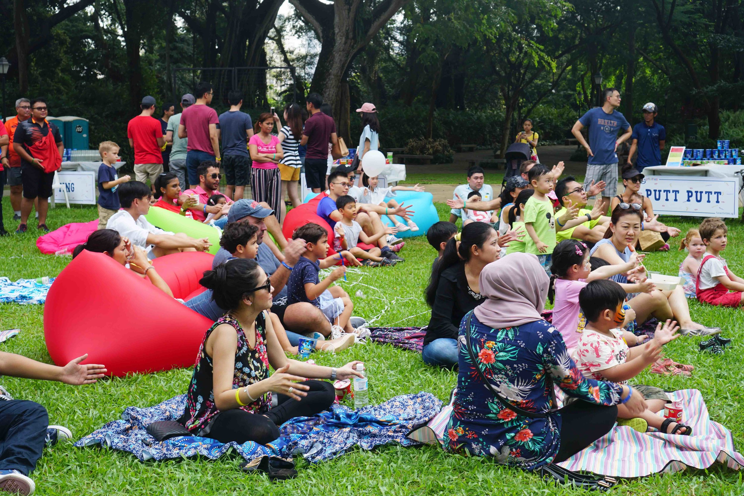 FAMILY DAY - Carnival games, food booths, music, entertainment and smiles all around