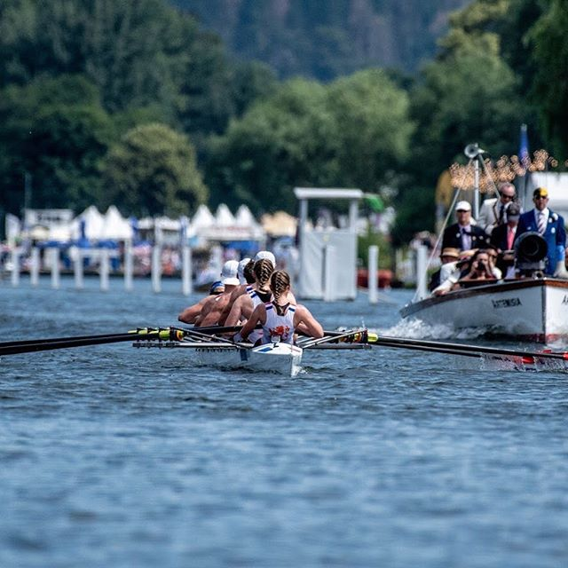 #Didyouknow that during yesterday's #TheKingsCup race, the first person ever to cross the finish line @henleyroyalregatta in a mixed crew was Australia's 🇦🇺 Lt Col Selina Rowland? In the same race, Dutch 🇳🇱1st Lt Ingeborg Dijksta was the first woman to stoke a mixed crew! 👩‍✈️👩‍✈️#OarsomeTogether #Firsts #Mixedeightsandwich
