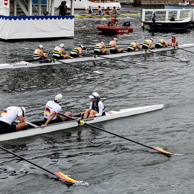 In the closest race so far, @bundeswehr 🇩🇪 defeated @defenceaustralia 🇦🇺 in the semifinal of #thekingscup at @henleyroyalregatta.  Stay tuned to see if they will face 🇫🇷 or 🇺🇸 in the final tomorrow!  #fittestandfinest