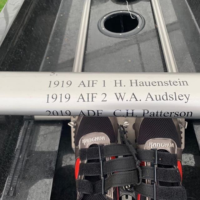 The Australians had their 1919 predecessors with them in their seats at @henleyroyalregatta this week #Heritage #rowing #TheKingsCup #History #yourADF @defenceaustralia @rowingaustralia