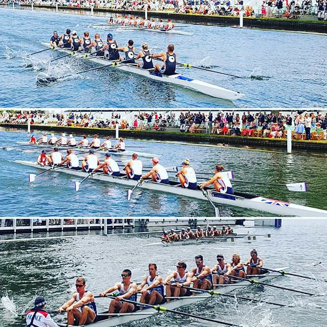 The row-over 👏👏👏 The 6 crews not in #TheKingsCup final all have been honoured by the large crowds at @henleyroyalregatta 🇦🇺 🇨🇦 🇨🇵 🇳🇿 🇳🇱 🇬🇧 #FittestAndFinest #OarsomeTogether #HenleyRoyalRegatta #HRR #WellDone #weareproudofyou  @defenceaustralia @rmc_rowing @forcesarmeesfranc @kingscupnld @nzdefenceforce @ukaf_rowing