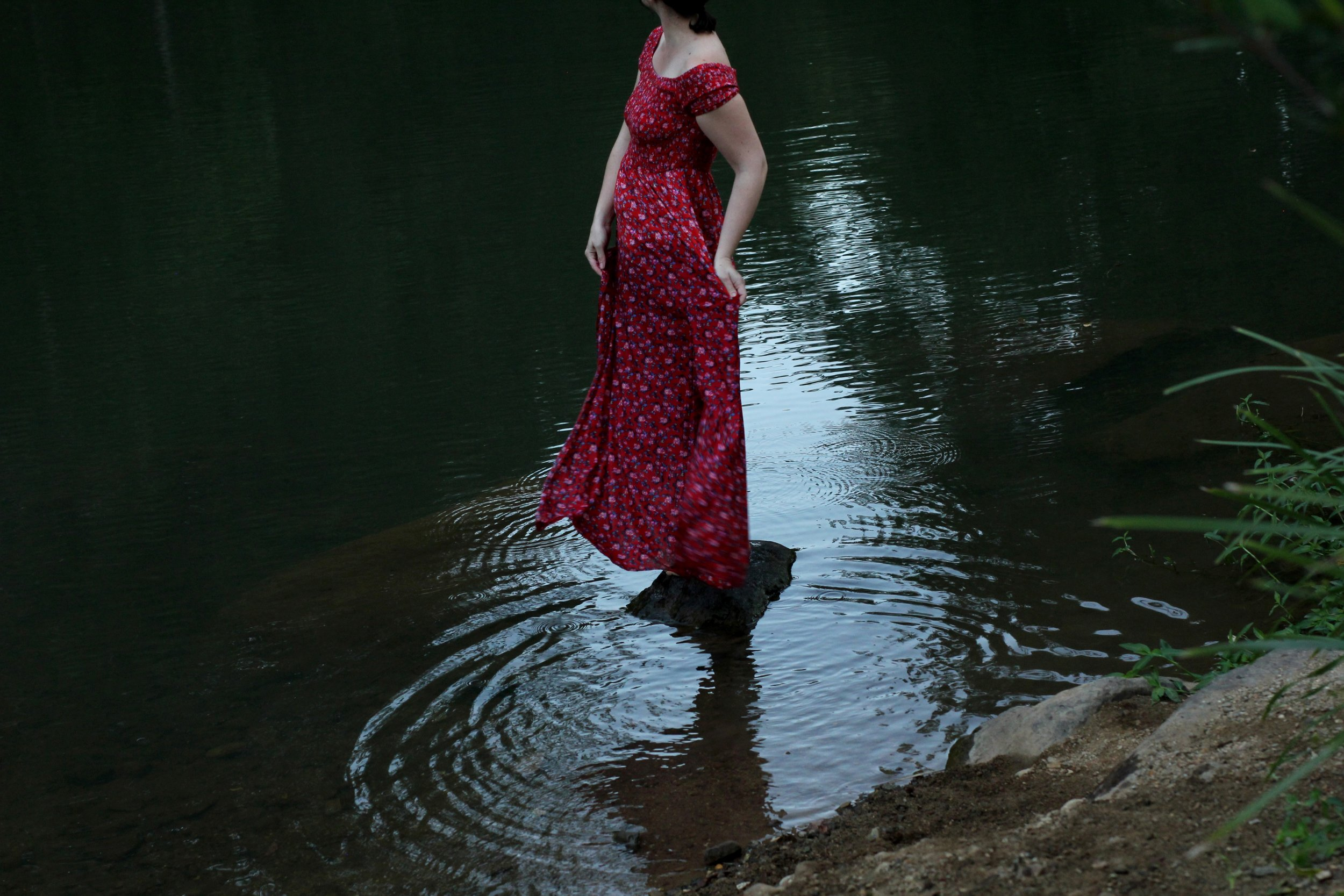 """Image taken by Liz during the course lesson """"Images of Reflection."""""""