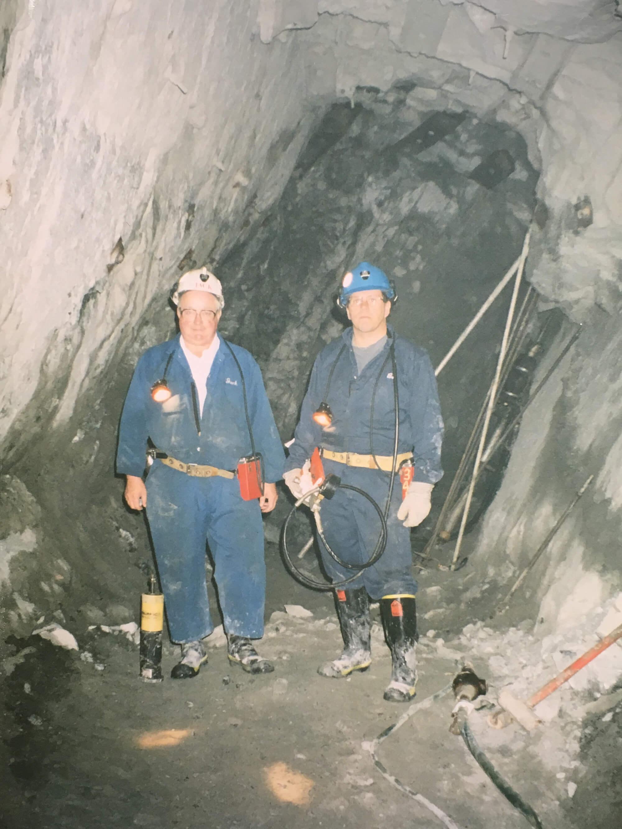 Champ and Merrick Underground