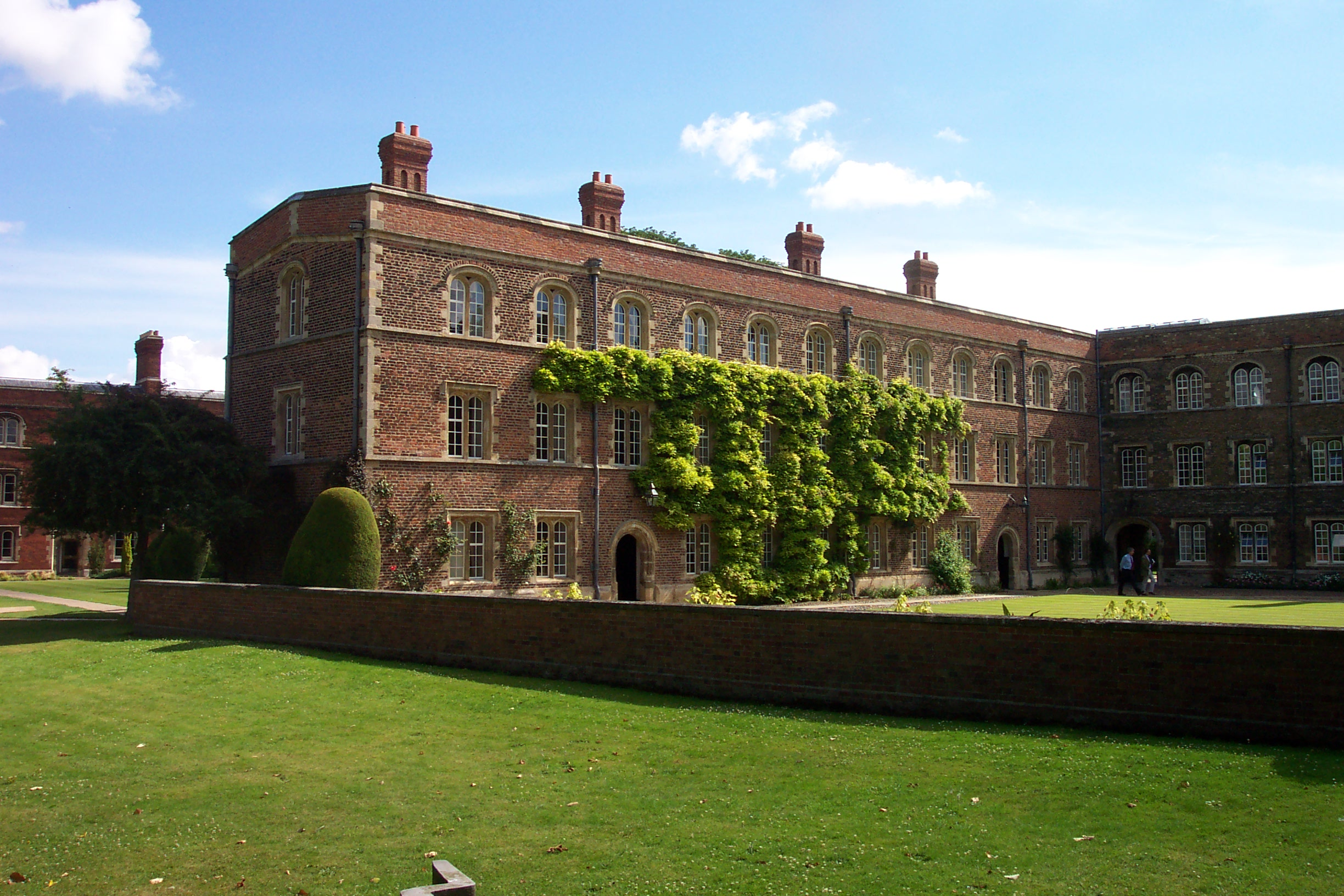 First Court from the Orchard, Jesus College, Cambridge