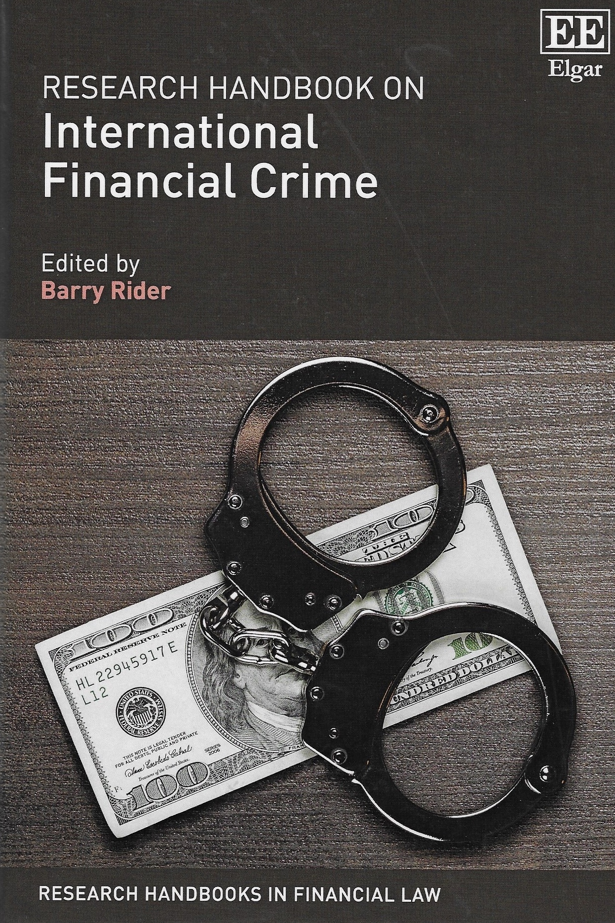 Other publications and research projects - Over the years the symposium and in particular its regional offspring have spawned numerous publications and research projects. One of the most recent being the Research Handbook on International Financial Crime by Prof Barry Rider.