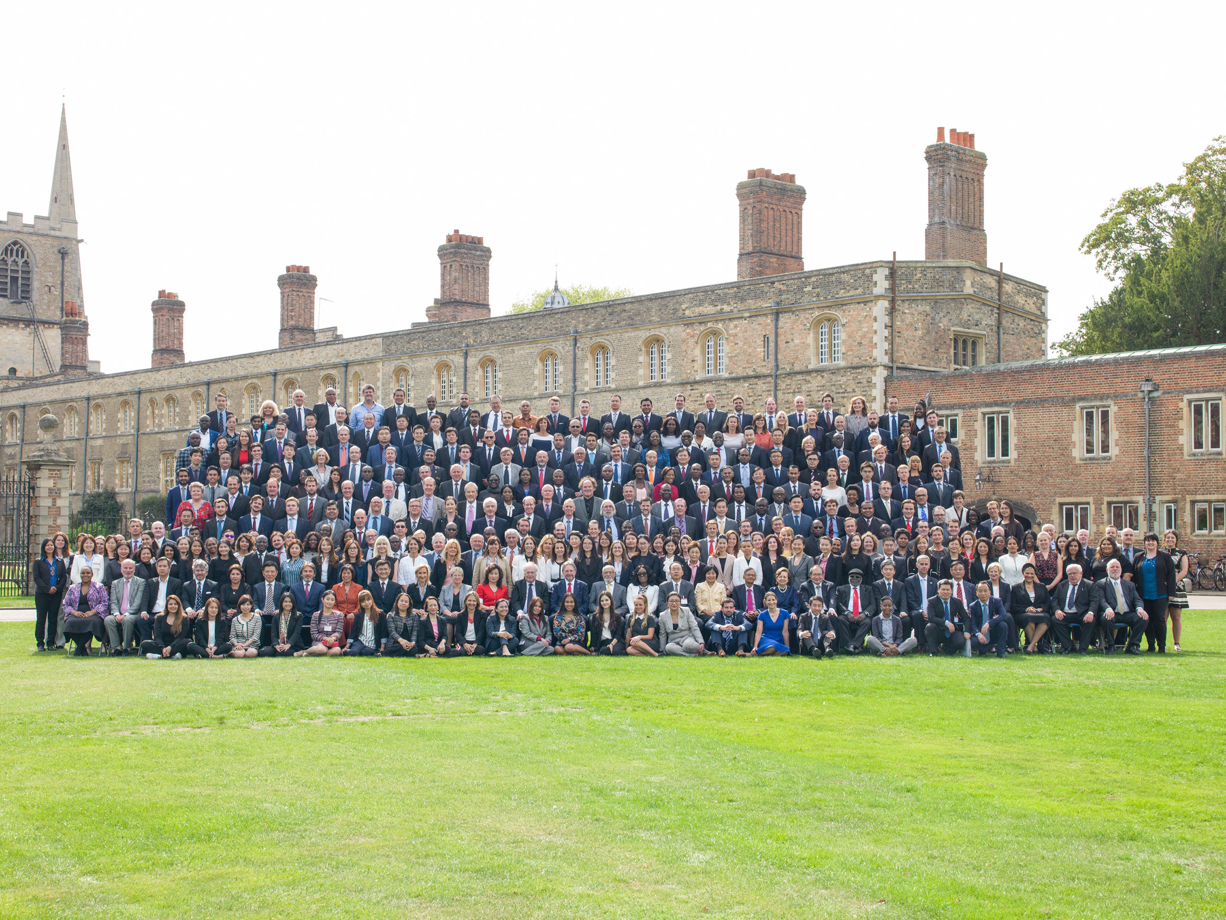 The 2018 Cambridge International Symposium on Economic Crime (first day's participants)