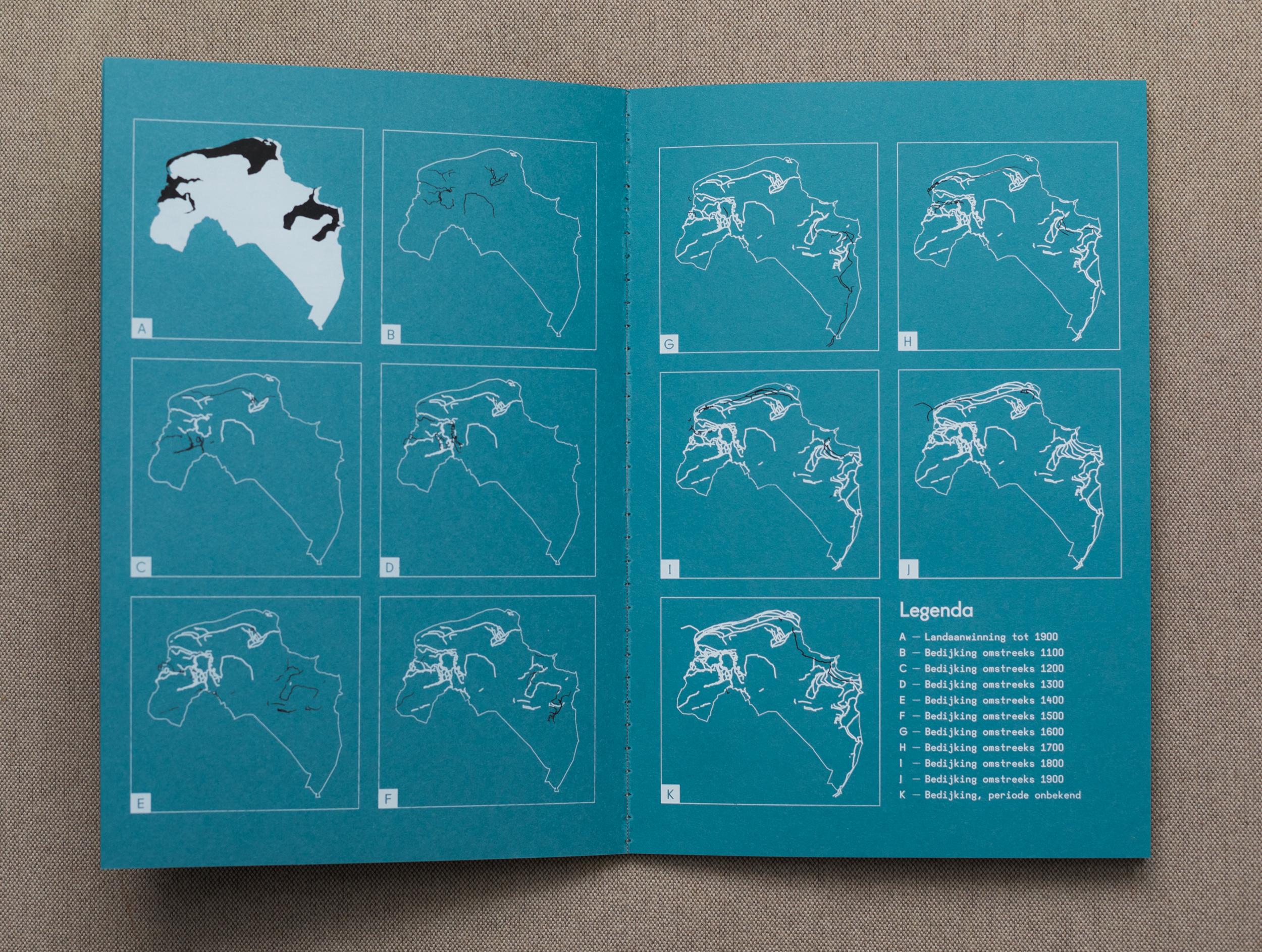 Ontwerpbureau Shootmedia ontwikkelde, met dank aan Ben Westerink van de RUG, speciaal voor dit project infographics die de bedijking van Groningen door de jaren heen in kaart brengt.  Bekijk hier de   PDF met infographics   over de bedijking, wierden en landaanwinning.