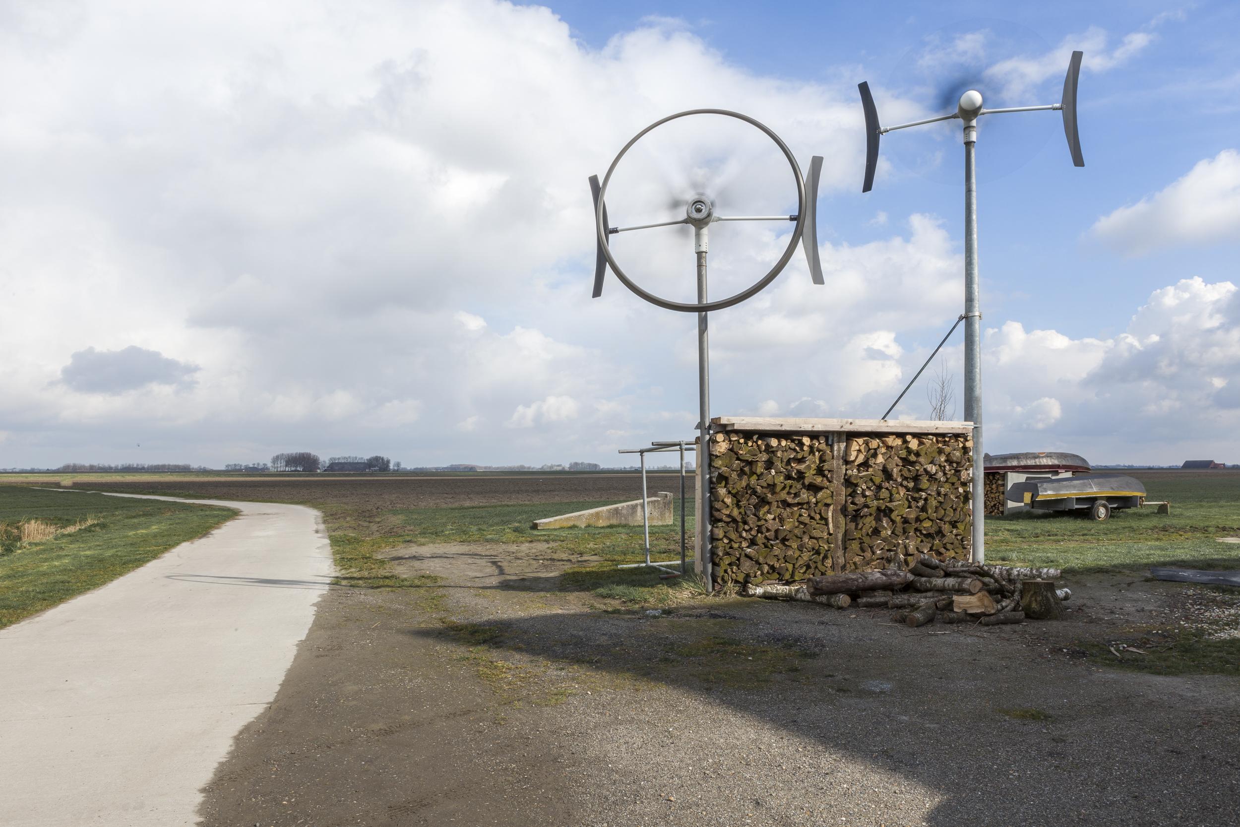 Verandering - Drie boerderijen in Groningen