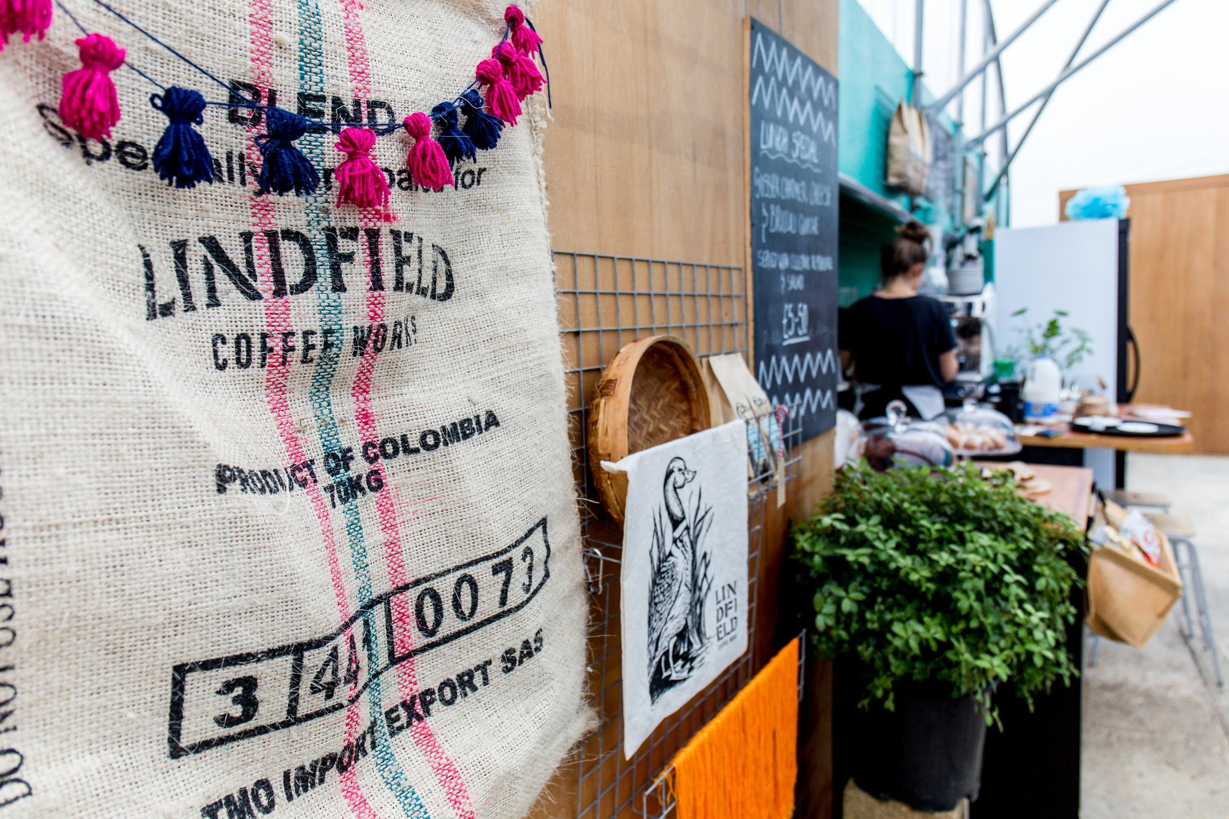 Lindfield Coffee Works Burlap Bag