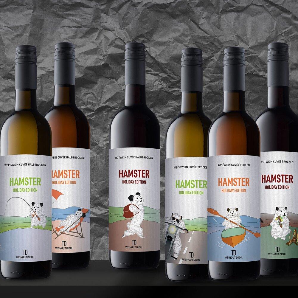 Hamster Holiday Edition von Weingut Diehl, Thomas Diehl