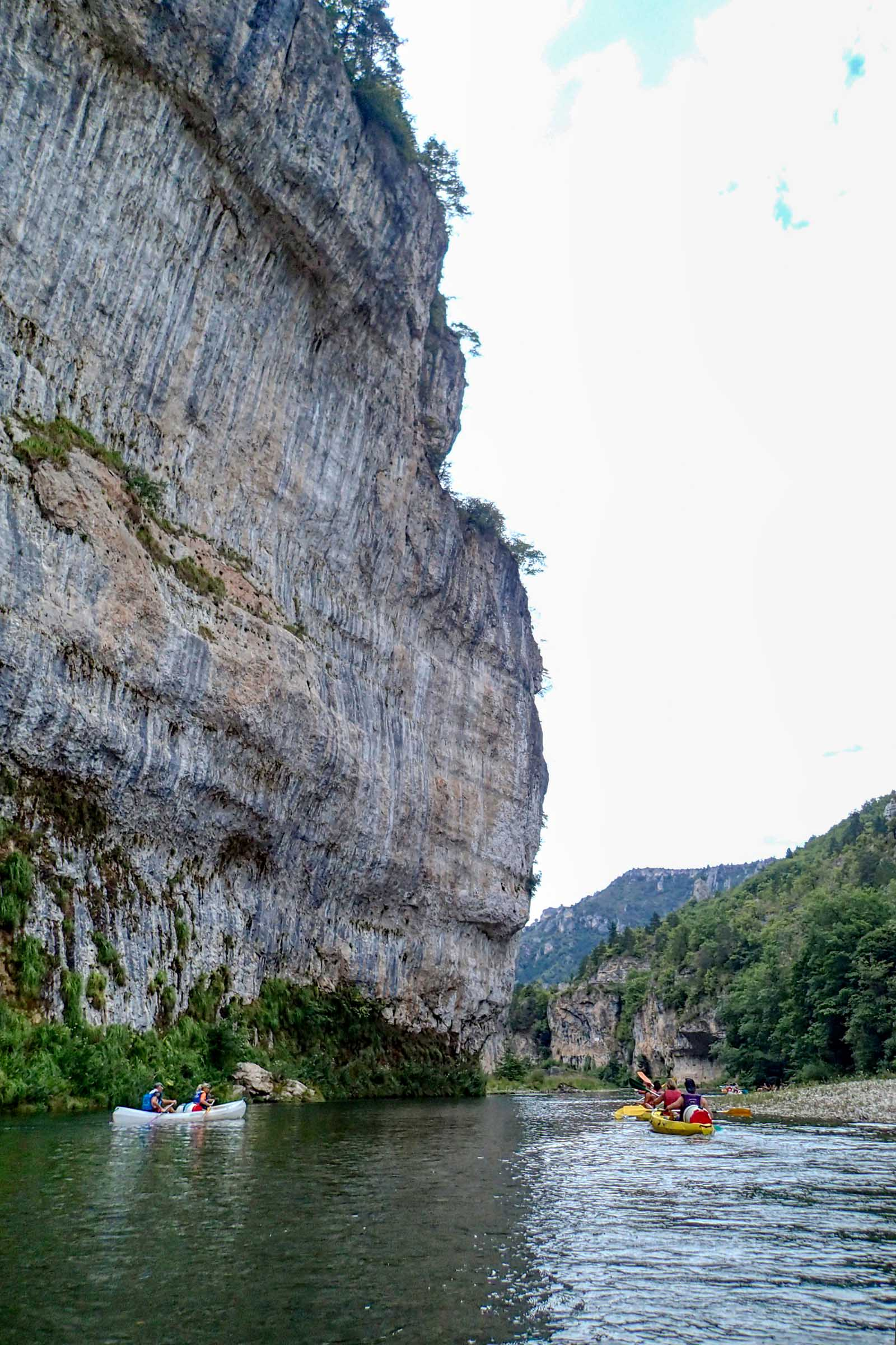 Canoeing in the Gorges du Tarn
