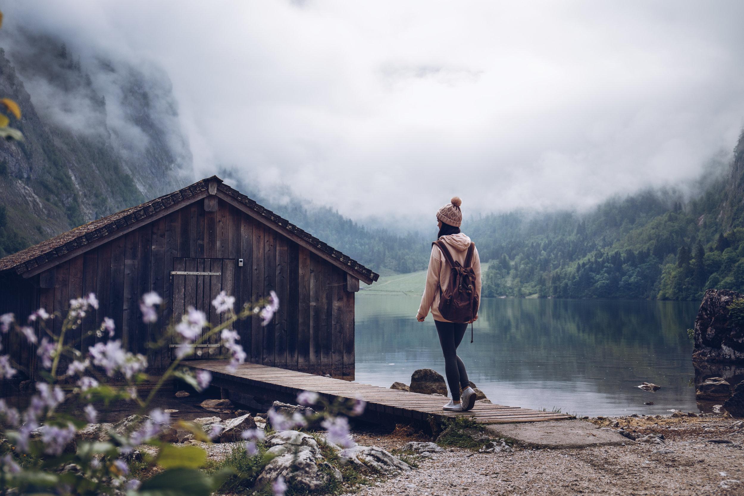 JJenniferSpurkFotografie - Berchtesgaden -Berghütte am Obersee