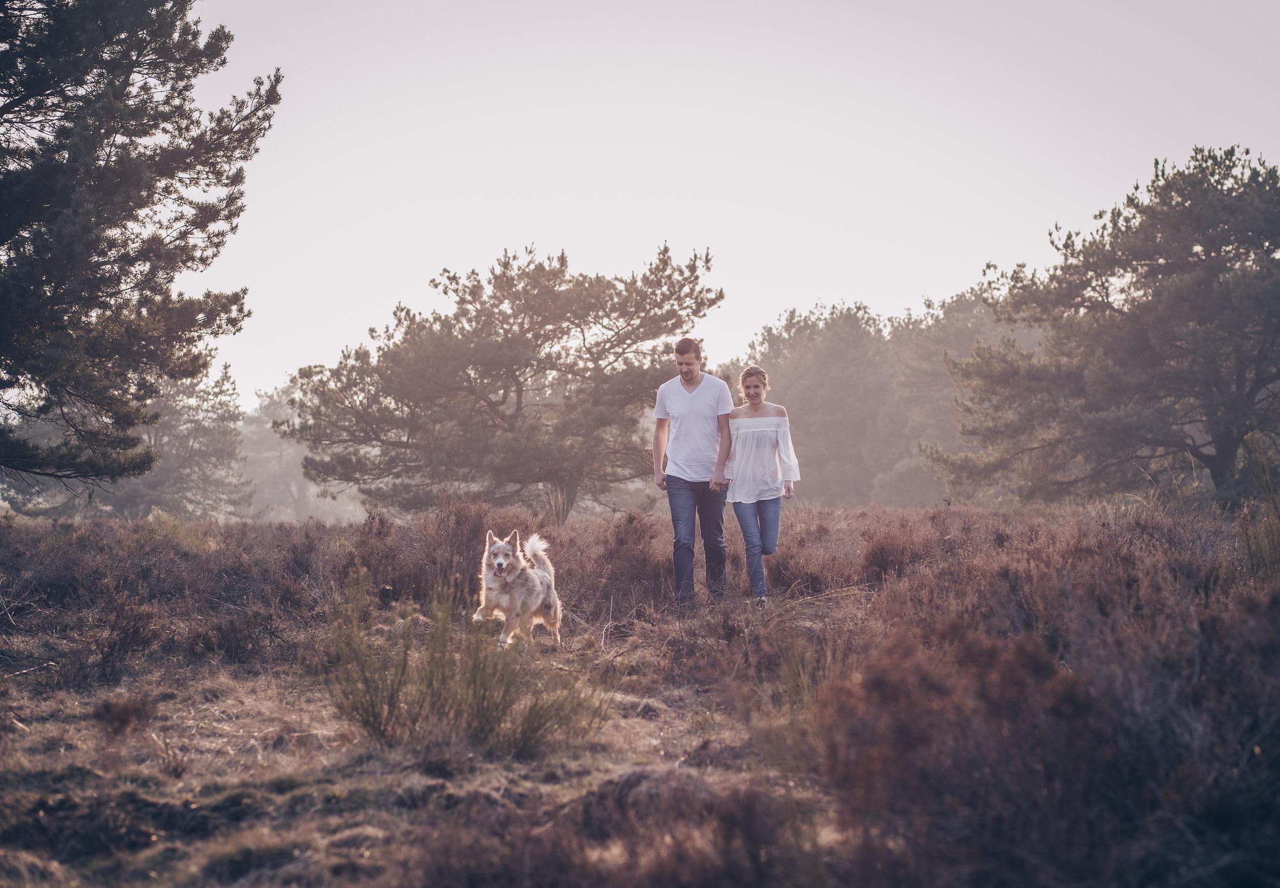 Paarshooting mit Hund in der Mehlinger Heide3