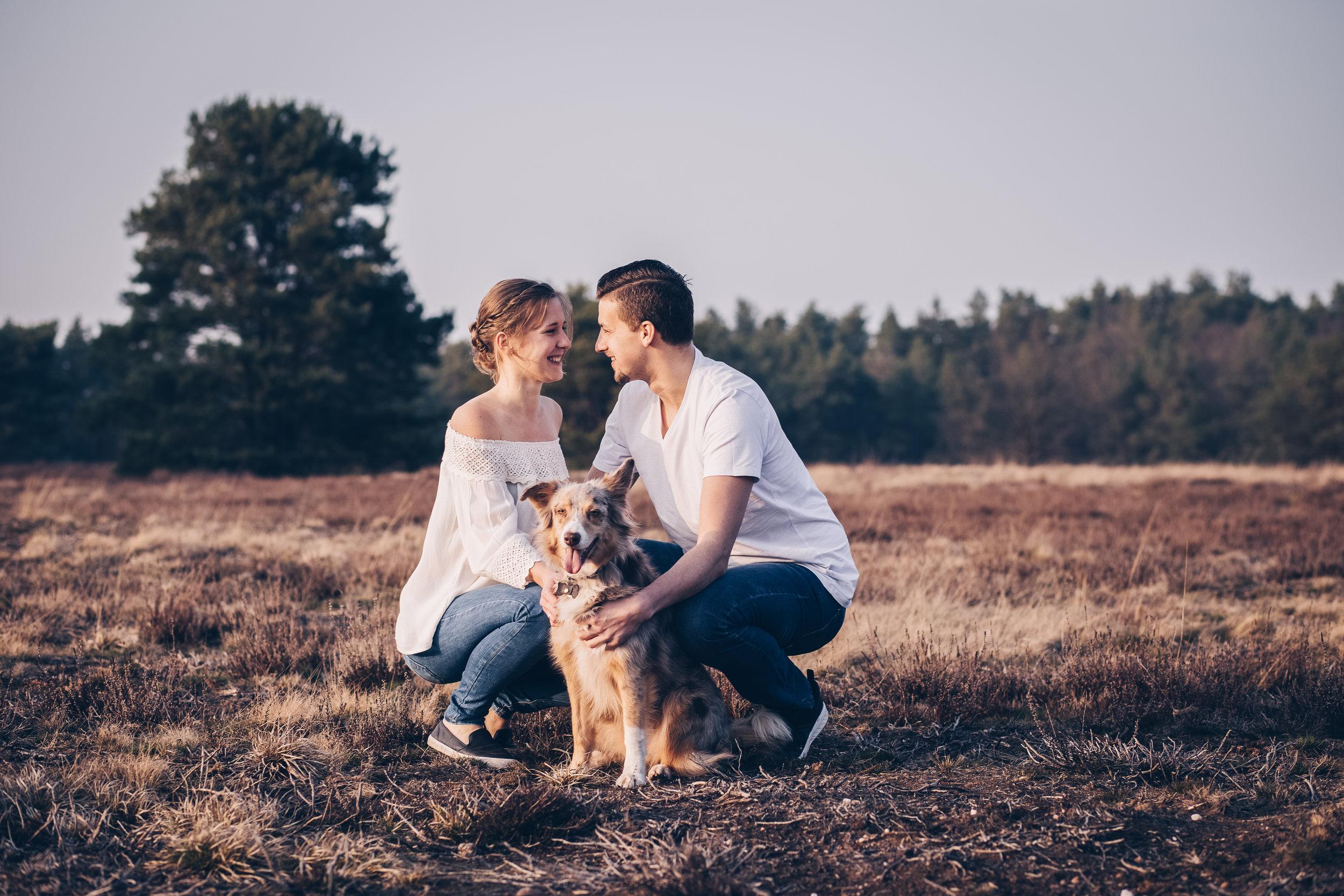 Paarshooting mit Hund in der Mehlinger Heide9