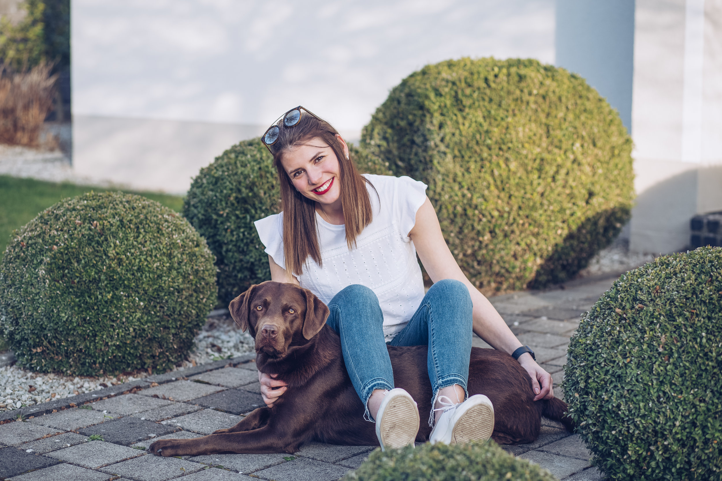 Homeshooting mit Hund4