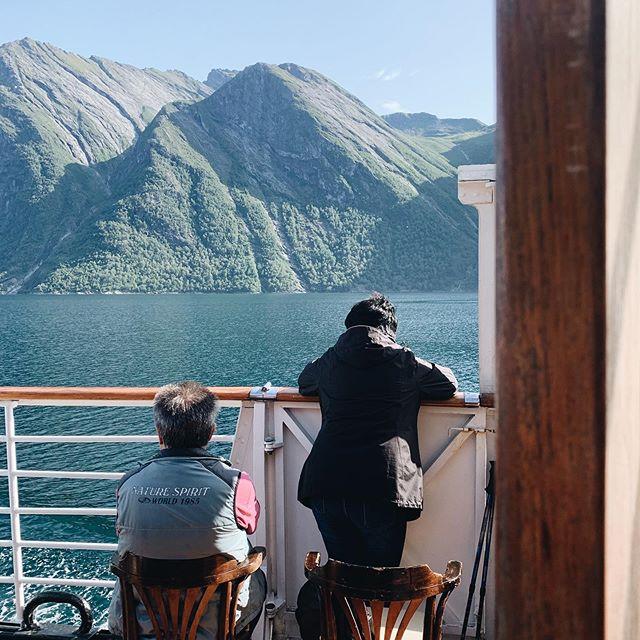 MS Bruvik i Hjørundfjorden  ______________________________________________________  #hjørundfjorden #hjørundfjord #hjorundfjordencruise #fjords #fjord #fjordcruise #cruise #norwegian #norwegianfjords #norwegianfjordscruise #norway #beautifulnature #beautifulnaturephotography #msbruvik #bruvik